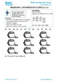 Worksheets for kids - multiplication-grid-method-pots-of-gold