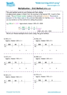 Worksheets for kids - multiplication-grid_method-htu_x_u