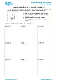 Worksheets for kids - short_multiplication_-_decimal_numbers_1