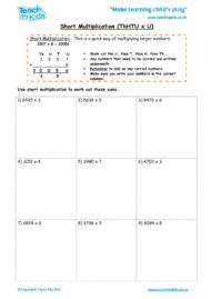 Worksheets for kids - short_multiplication_-_thhtu_x_u