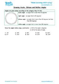 Worksheets for kids - drawing-acute-obtuse-and-reflex-angles