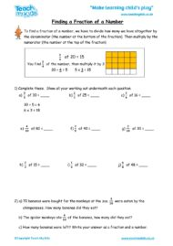 Worksheets for kids - inding_a_fraction_of_a_number_2