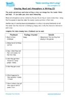 Worksheets for kids - creating-mood-and-atmosphere-in-writing-2