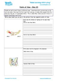 Worksheets for kids - points-of-view-bias-2
