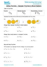 Worksheets for kids - adding-fractions-improper-and-mixed-numbers