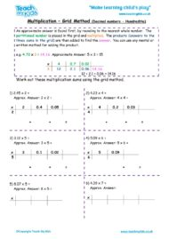 Worksheets for kids - multiplication-grid-method-decimal-nos-hundredths