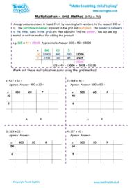 Worksheets for kids - multiplication-grid-method-htu-x-tu